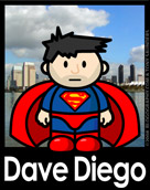Dave Diego Poster