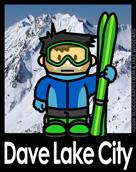 Dave Lake City Poster