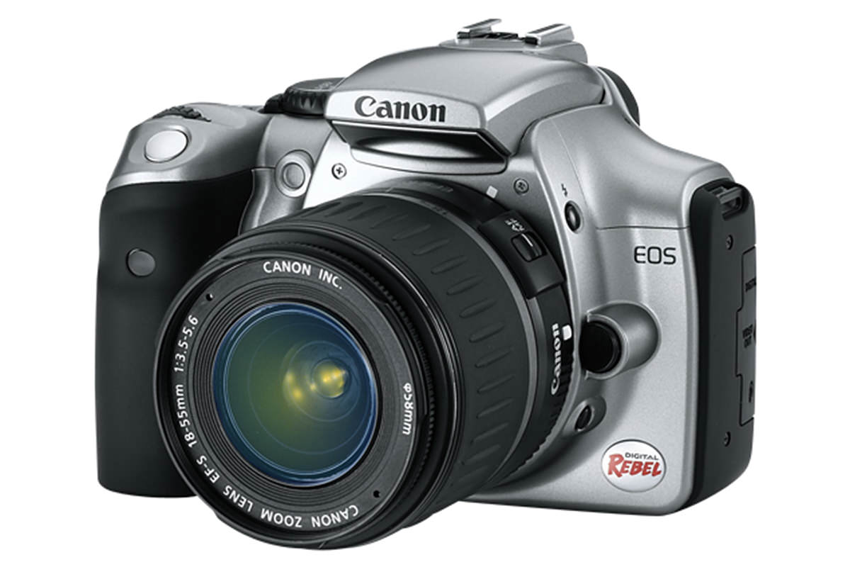 The Canon EOS Rebel Digital camera