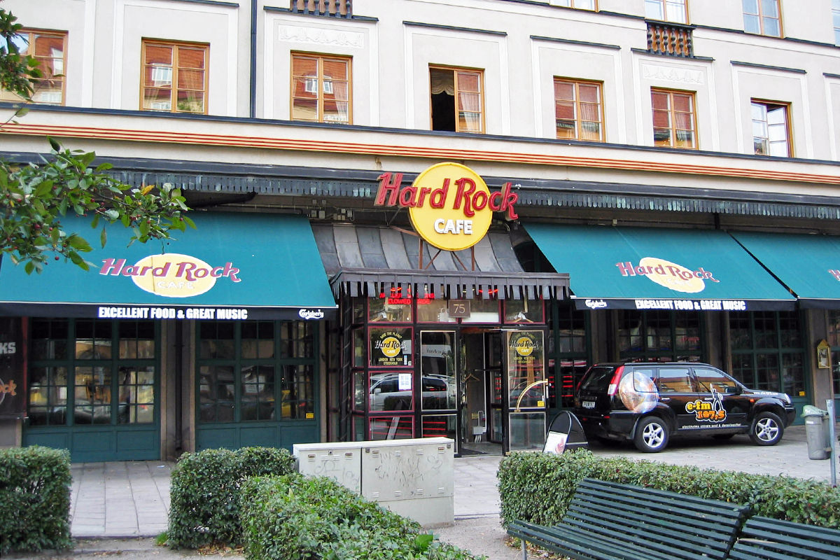The Hard Rock Cafe in Stockholm