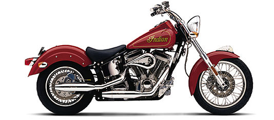 A Beautiful Indian Motorcycle