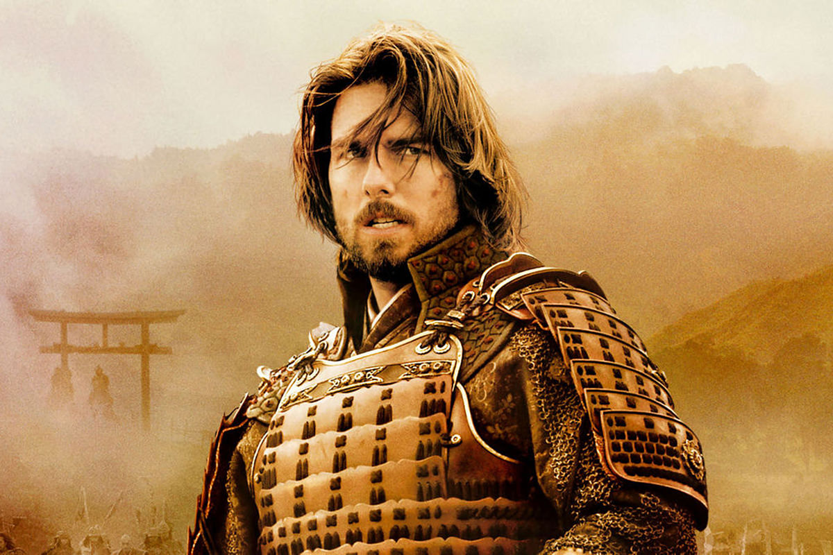 The Last Samurai poster with Tom Cruise.