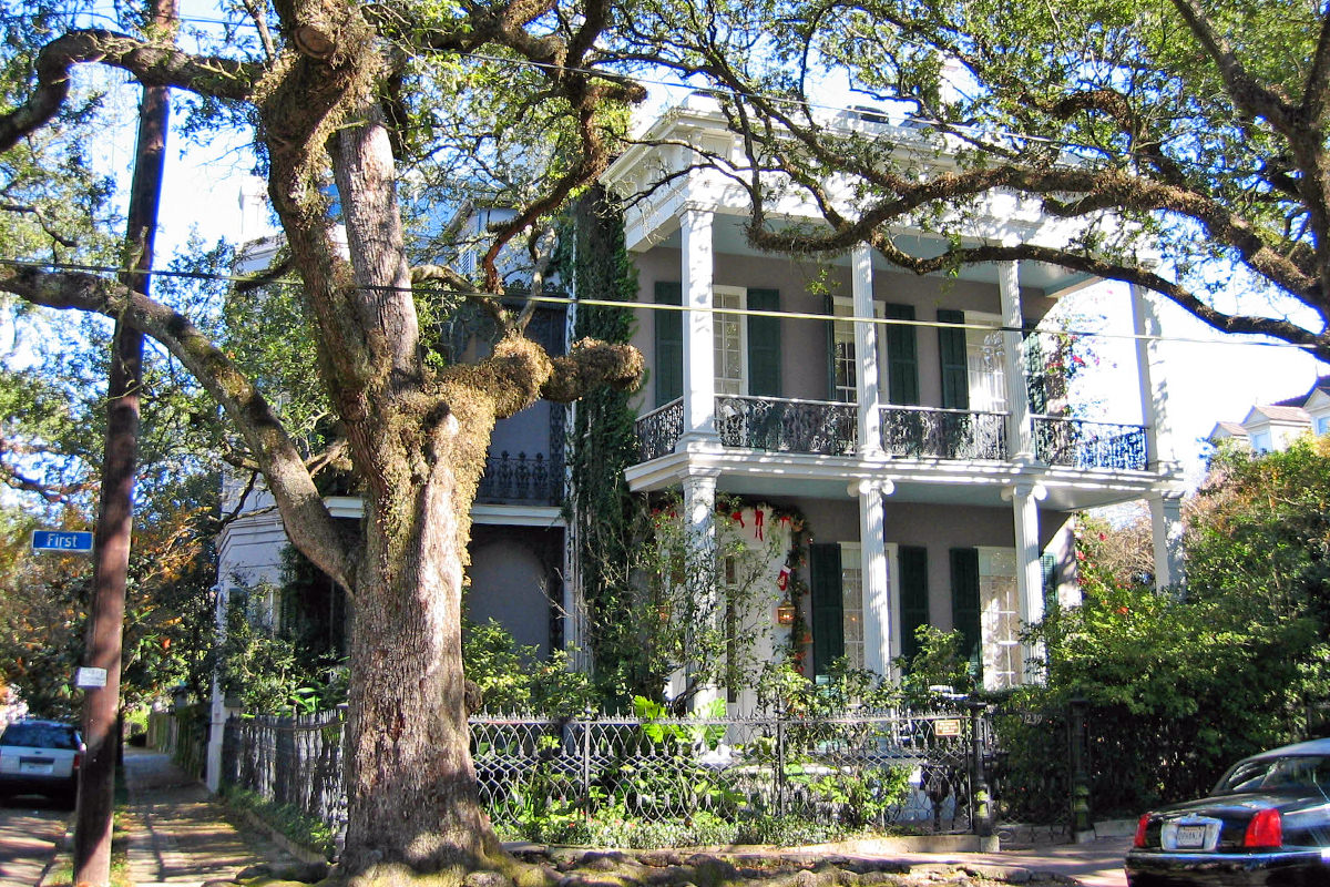 Anne Rice's House.