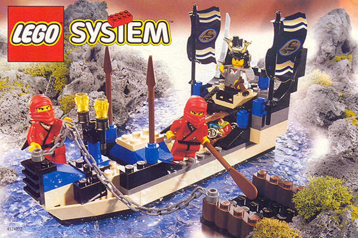 LEGO Ninja Boat Play Set #3050