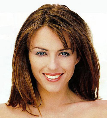 Elizabeth Hurley looking very pretty.