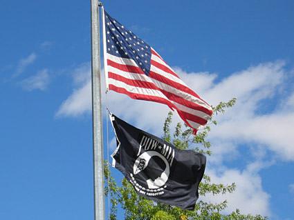 A MIA/POW Flag