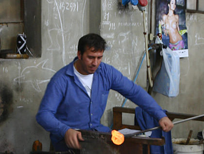 Murano Glassblower