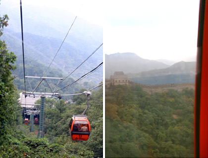 Cable Car Great Wall