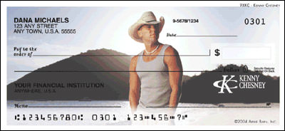 Kenny Chesney Checks