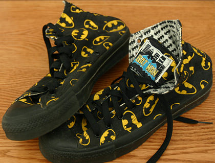 Converse Batman All-Star Chuck Taylors