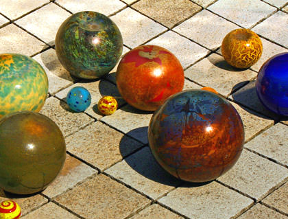 Chihuly Marbles