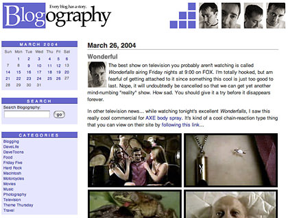 Oldblogography