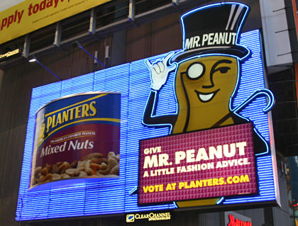 Mr. Peanut!