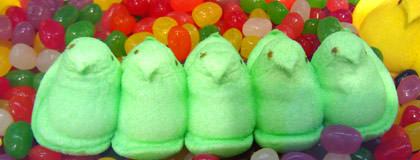 Green Peeps!