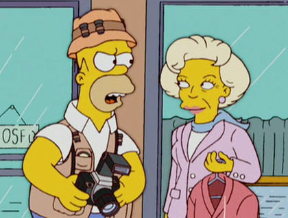 Homer and Betty