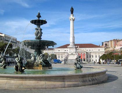 Lisbon Dom Pedro