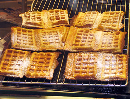 Snack Waffle!
