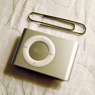 iPod Shuffle Clip