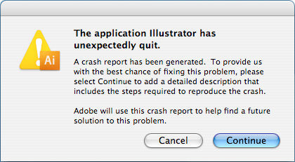 Adobe Illustrator CS3 Crash!