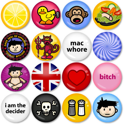 Dave Buttons!