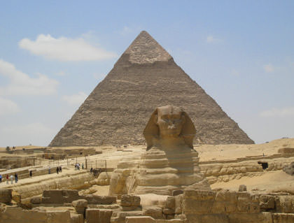 Egypt Sphinx and Pyramid
