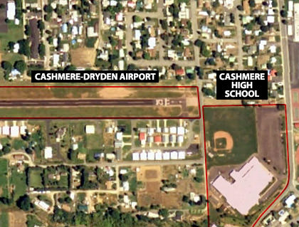 Cashmere Crash Map