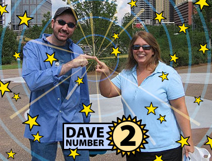 Dave Numbered!