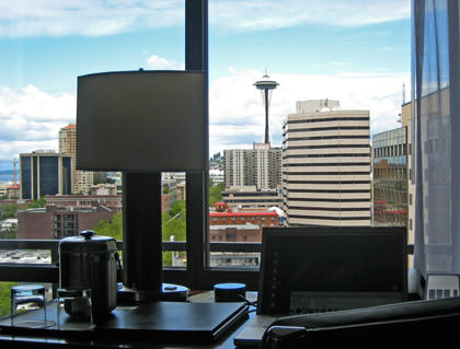 Hotel Seattle View