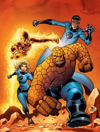 Mike Wieringo Fantastic Four