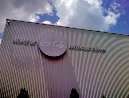 World of Coke without Lime