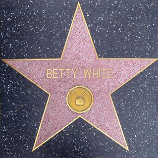 Betty White's Star
