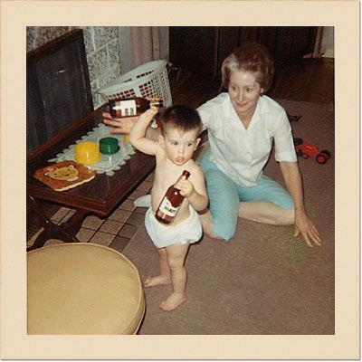 Grandma and Dave