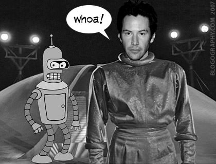 Keanu Day The Earth Stood Still