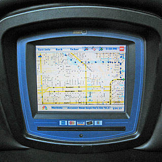 It's A Taxi GPS Map!