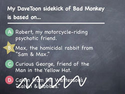 Bad Monkey is based on...