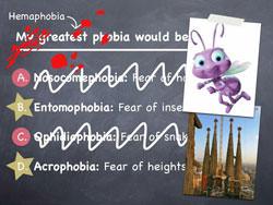 Dave phobias...