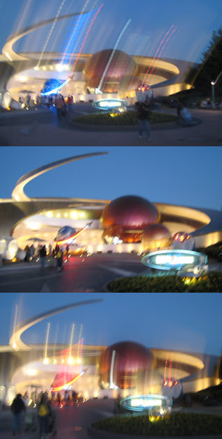 Mission: Space Blur