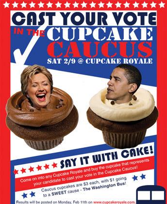 Caucus Cupcakes