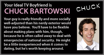 My TV Boyfriend...