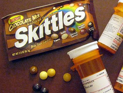 Choco Skittles