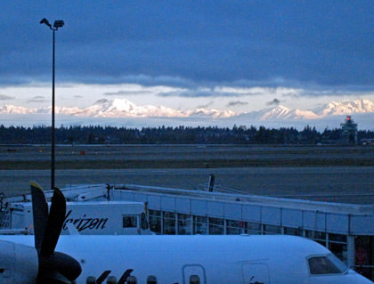 Morning At Sea-Tac