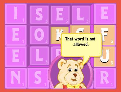 Webkinz Word Games
