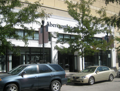 A photo of Abercrombie and Fitch.