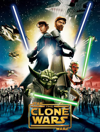 Clone Wars Movie Poster