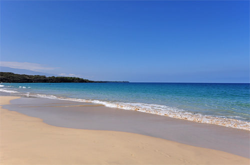 Beautiful Hapuna Beach Morning