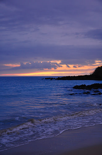 Hapuna Beach Sunset