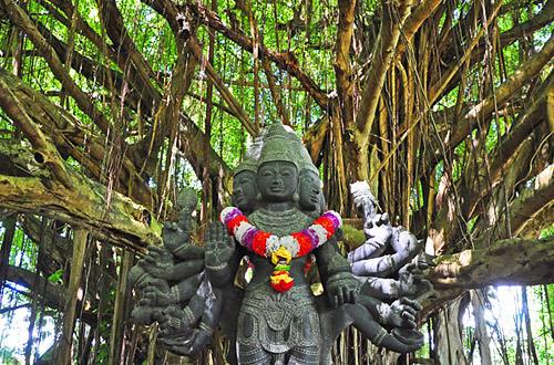 Hindu Temple Statue