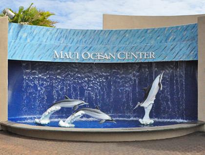 Maui Ocean Center Sign
