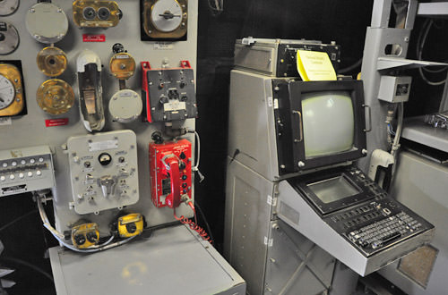 The USS Missouri Control Room