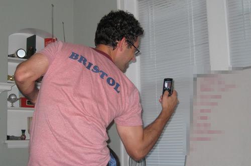 Brandon photographs the White Board